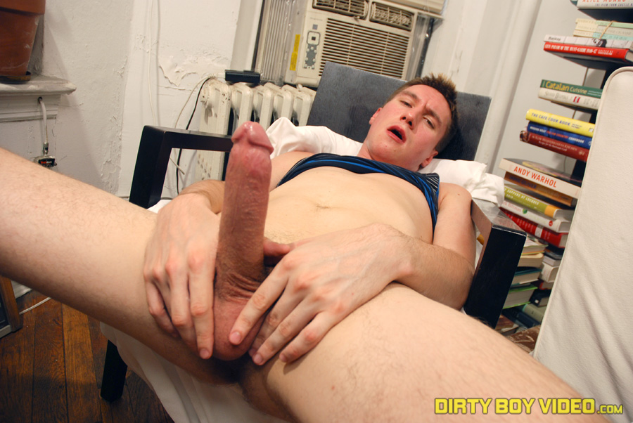 DirtyboyVideo-Nick-jackoff-torrent-12 Huge Amateur Twink Cock Cums All Over