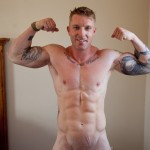 Southern Strokes Clayton Jasper Bodybuilder Jackoff 13 150x150 Hung Straight Amateur Bodybuilder Masturbates and Shoots a Huge Load of Cum