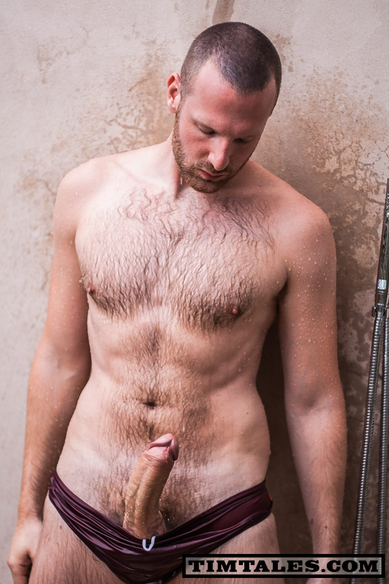 TimTales Tim Morocco torrent 07 Hairy Tim Strokes his Huge Uncut Cock until he Cums