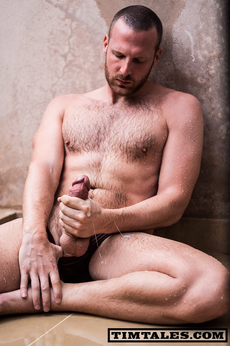 TimTales Tim Morocco torrent 09 Hairy Tim Strokes his Huge Uncut Cock until he Cums