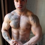 Bentley-Race-Max-Hilton-Uncut-cock-Muscle-12-150x150 Hung Spanish Straight Amateur Bodybuilder Jacks His Huge Uncut Cock