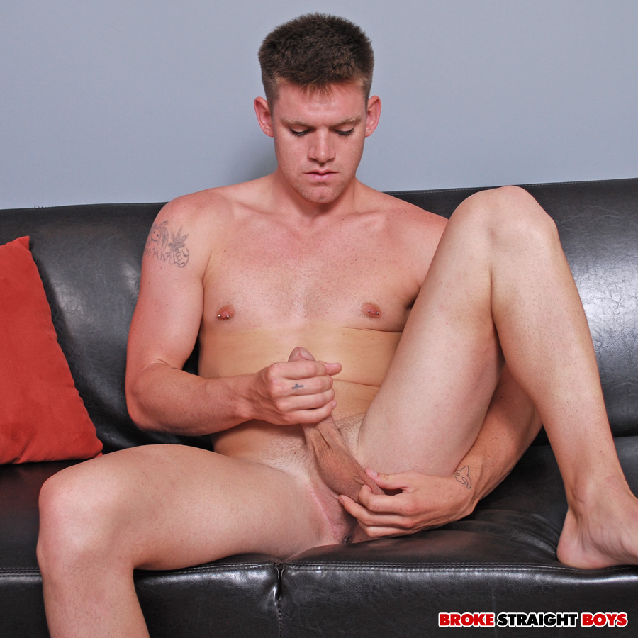 Broke-Straight-Boys-Jay-Adams-big-cock-15 Broke Southern Boy with Huge Amatuer Donkey Cock Jerks Off for Cash