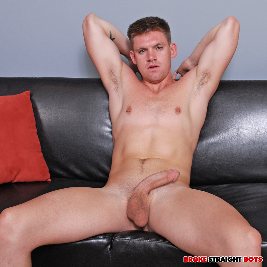 Broke-Straight-Boys-Jay-Adams-big-cock-21 Broke Southern Boy with Huge Amatuer Donkey Cock Jerks Off for Cash