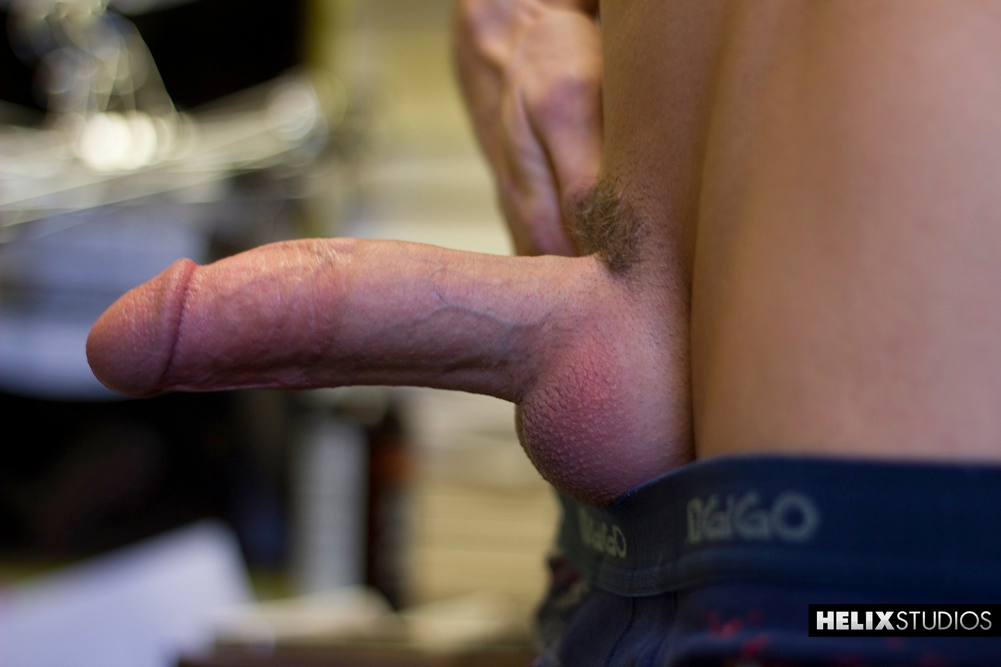 Helix Studios Christian Collins Twink Redhead bigcock 06 Red Headed Amateur Twink With Huge Cock Rubs One Out