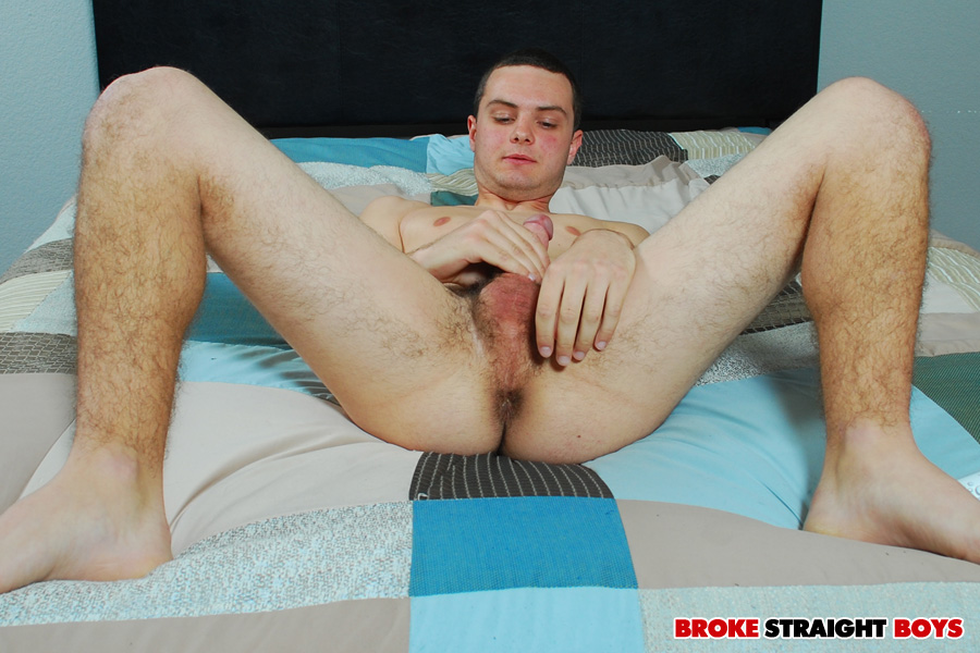 Broke-Straight-Boys-Joey-Conrad-big-straight-cock-jerking-off-16 Amateur Straight Country Twink Busts His Nut On Cam For Cash