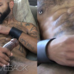Edger9 Big Dick Kory Big Black Cock Cum 03 150x150 Hairy Tattooed Black Stallion Jerks His Huge Thick Cock