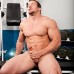 Randy-Blue-Hunter-Manning-Muscle-Jerk-Off-08-150x150 Straight Sexy Muscle Guy Stokes His Huge Thick Cock