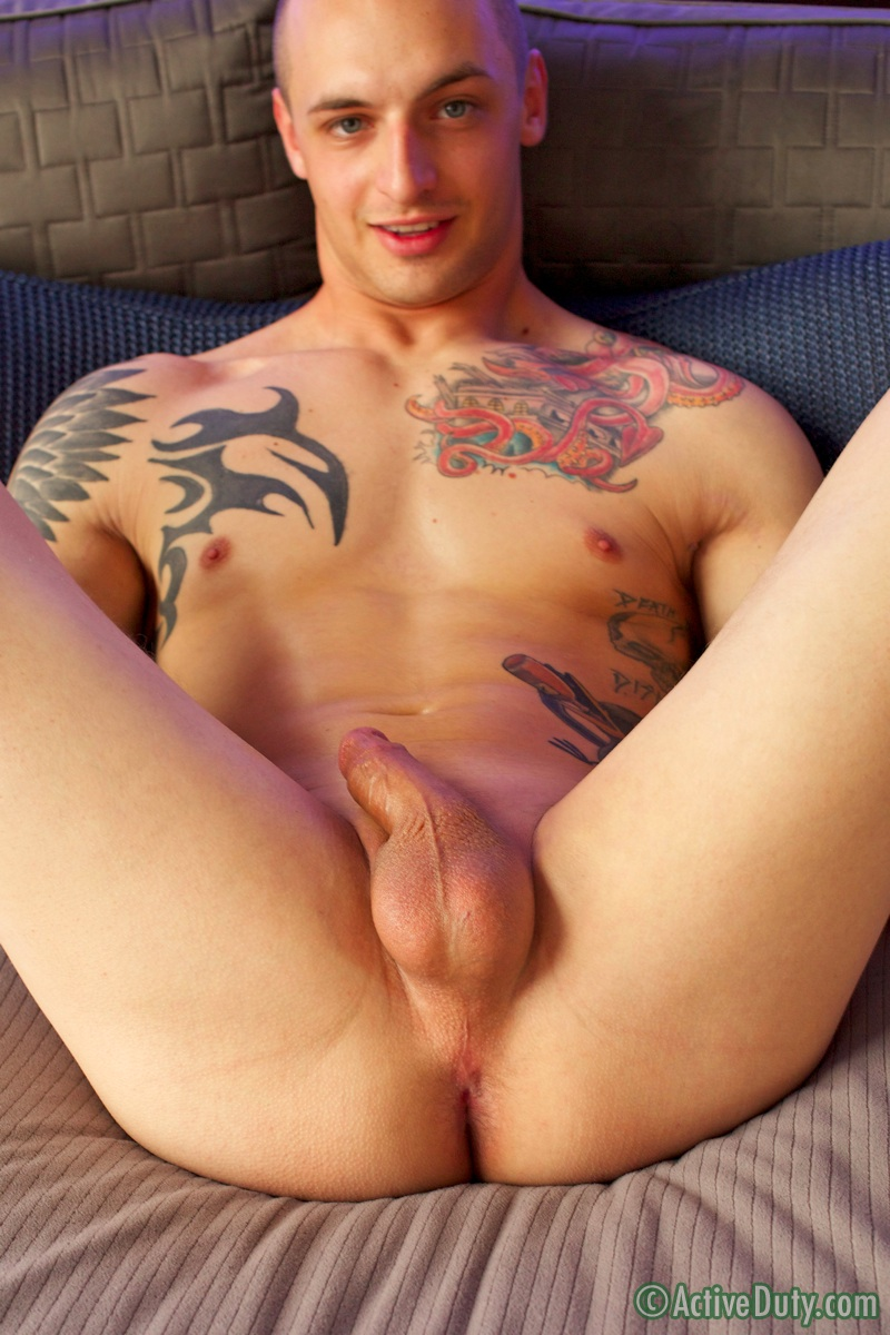 ActiveDuty-Ezra-Tattoo-Military-Army-Muscle-Stud-Jerking-Off-Solo-Amateur-Gay-Porn-15 Amateur Straight Muscle Army Guy First Jerk Off On Video