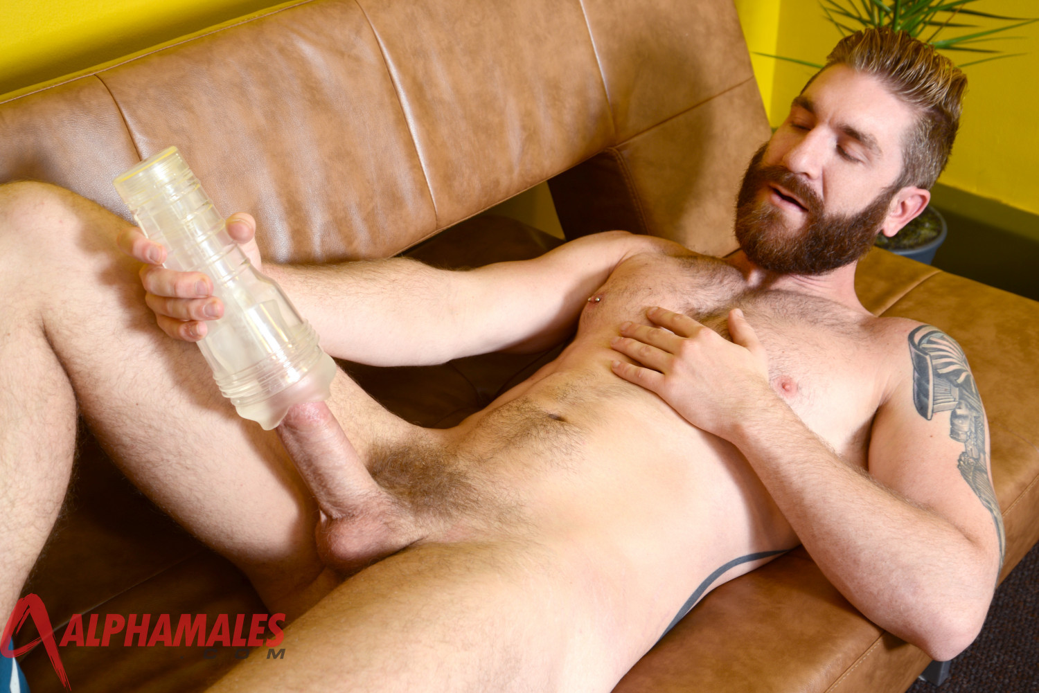 AlphaMales-Geoffrey-Paine-Big-Cock-Fleshlight-Fleshjack-Amateur-Gay-Porn-06 Amateur Hairy Muscle Stud Geoffrey Paine With Big Cock and Fleshjack