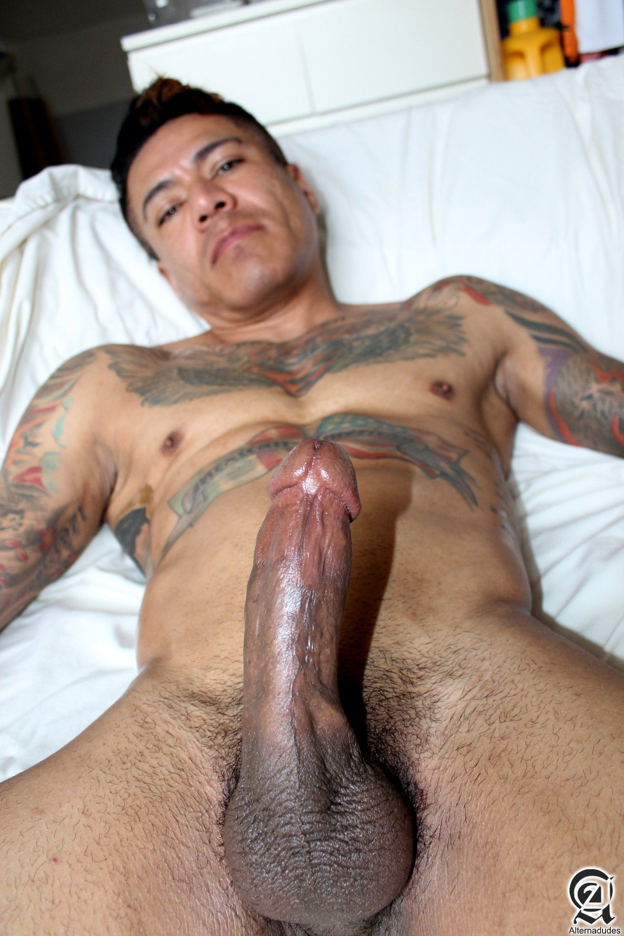 Alternadudes Maxx Sanchez Tatted Mexican Daddy Big Cock Amateur Gay Porn 10 Amateur Tatted Latino Daddy Shot A Load In His Mouth