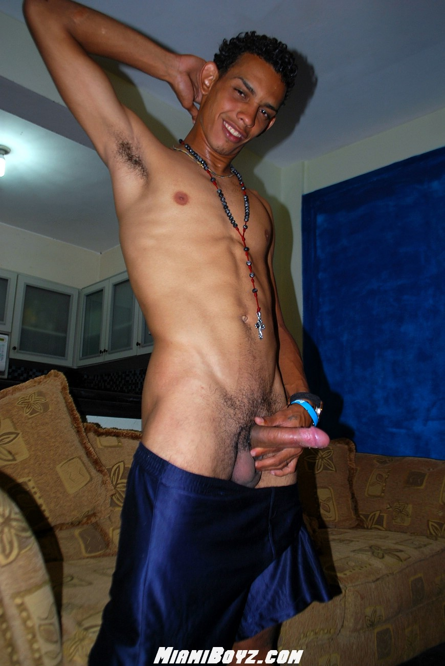 MiamiBoyz-PABLO-big-uncut-latino-straight-cock-jerking-off-Amateur-Gay-Porn-46 Amateur Straight Latino Teen From Miami Jerks His Huge Uncut Cock