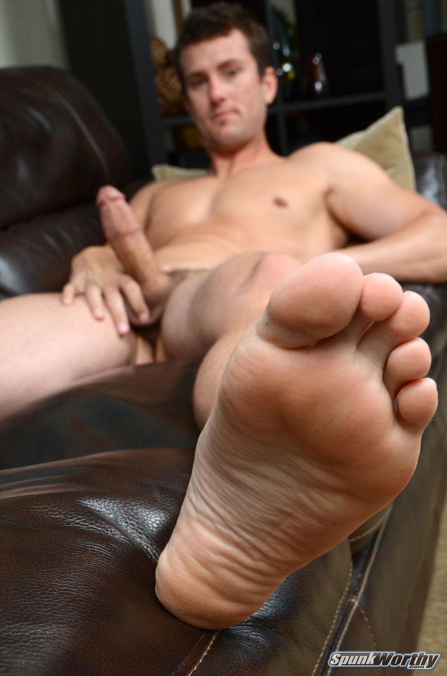 SpunkWorthy-Tommy-Straight-Guy-With-Big-Cock-Handjob-Amateur-Gay-Porn-13 Amateur Straight Surfer Gets His First Handjob From A Guy