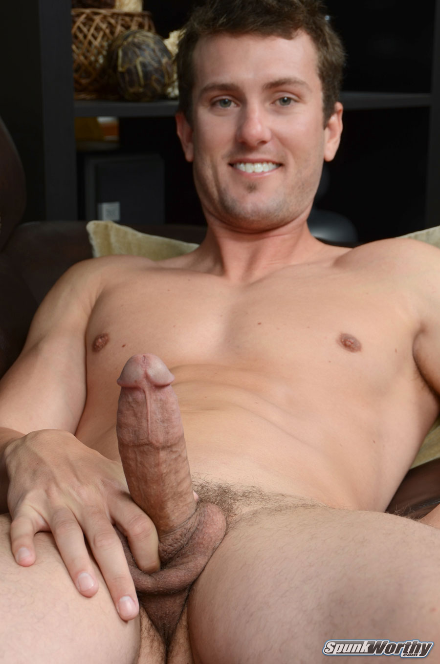 SpunkWorthy-Tommy-Straight-Guy-With-Big-Cock-Handjob-Amateur-Gay-Porn-14 Amateur Straight Surfer Gets His First Handjob From A Guy
