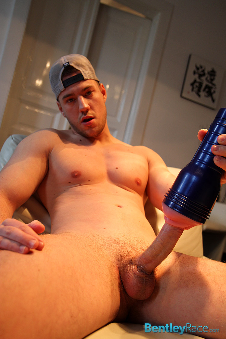 Bentley-Race-Colt-Jeffry-Branson-Big-Uncut-Cock-Jerking-Off-Amateur-Gay-Porn-20 Amateur Straight Muscle Boy Uses a Fleshlight On His Big Thick Uncut Cock