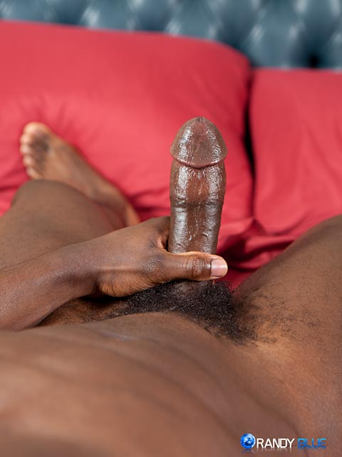 Randy-Blue-Sam-Jose-Black-Guy-Stroking-His-Big-Black-Cock-Amateur-Gay-Porn-12 Amateur Muscle Black Guy Jerks His Big Black Thick Cock With A Fleshjack