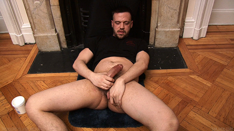 Treasure Island Media TIMJack Hunter James Beefy Jerk Off Cum Eating Gay Porn 5 Amateur Beefy Guy Jerks His Thick Cock and Eats His Hot Cum