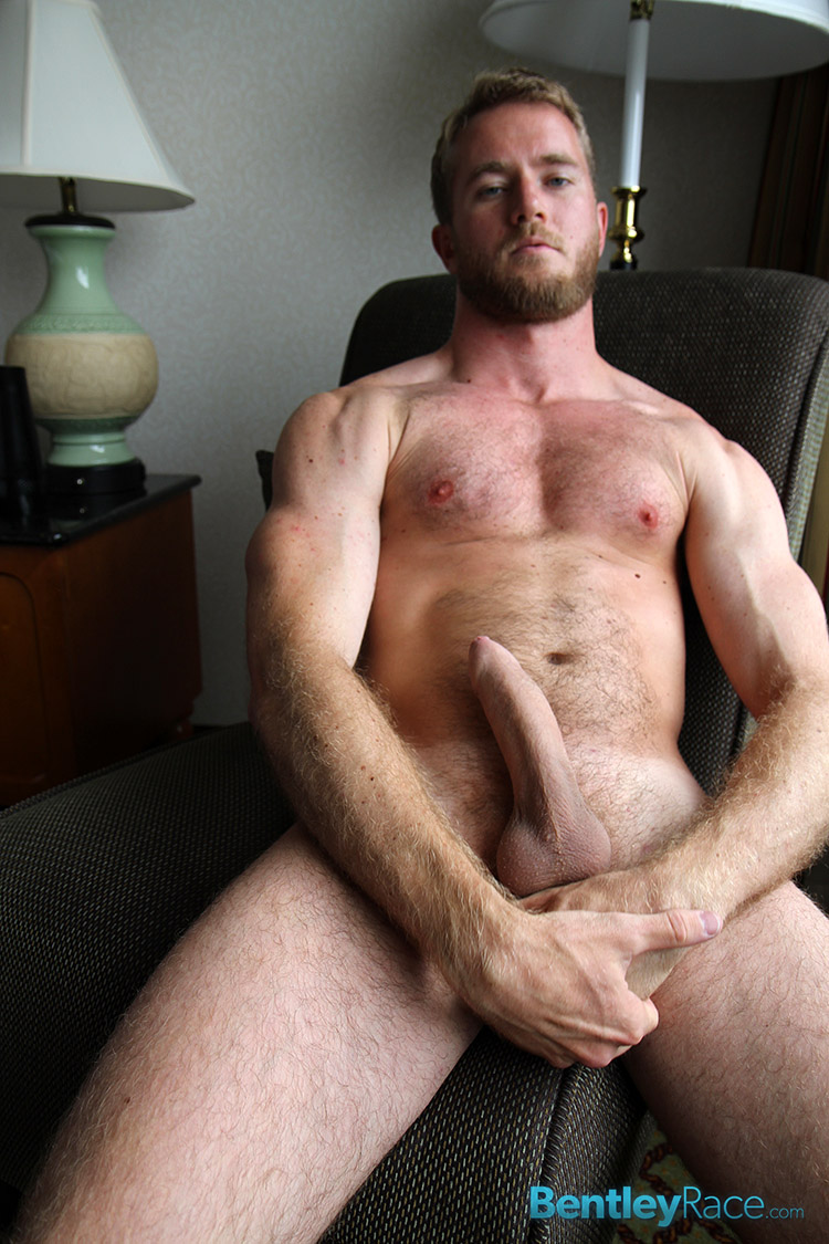 Bentley-Race-Drake-Temple-Big-Hairy-Uncut-Cock-Foreskin-Amateur-Gay-Porn-18 Amateur Hairy 27 Year Old Strokes His Massive Uncut Cock