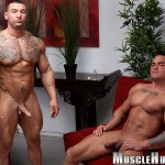 Muscle-Hunks-Jackson-Gunn-and-Caleb-del-Gatto-Amateur-Wrestle-In-Jock-Straps-and-Jerk-Off-Amateur-Gay-Porn-13-150x150 Amateur Straight Bodybuilders Wrestle In Jock Straps and Bust A Nut Together