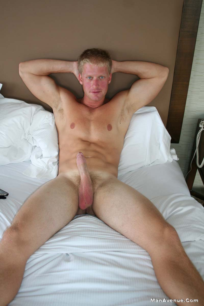 ManAvenue Mickey Hardwood Blonde Hair Blue Eye Muscle Hunk Jerking Off Big Cock Amateur Gay Porn 07 Amateur Straight Blonde Hair Muscle Stud Jerks His Big White Cock