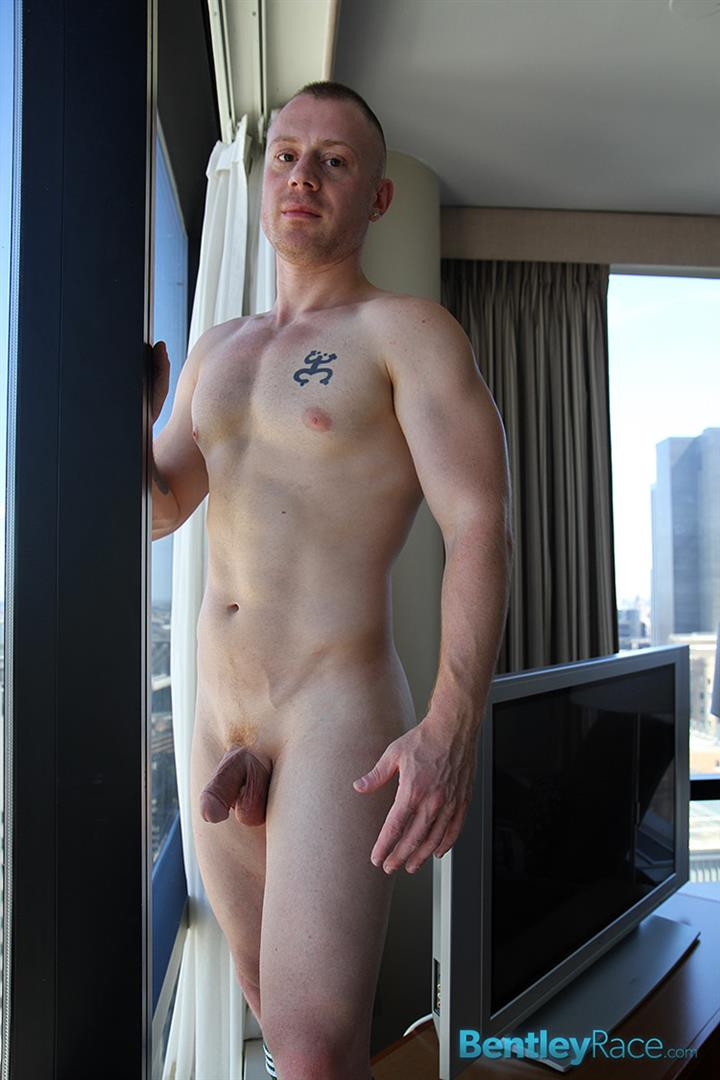 Bentley-Race-Saxon-West-Thick-Cock-Jerking-Off-Amateur-Gay-Porn-10 Amateur Red Headed Muscle Boy Jerks His Big Thick Cock