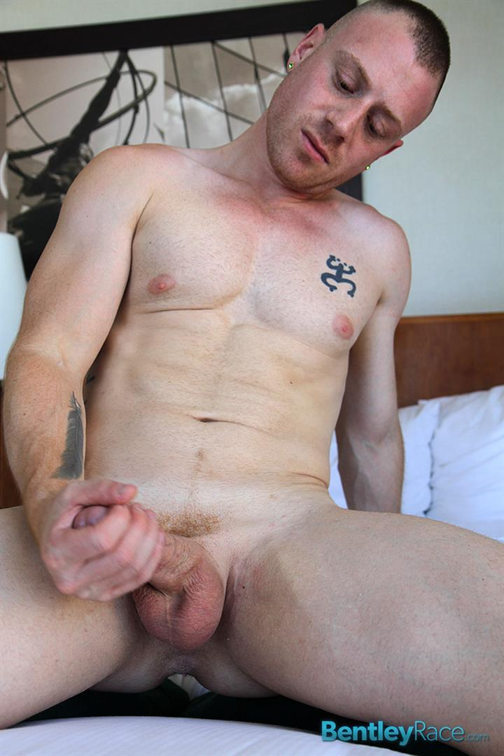 Bentley-Race-Saxon-West-Thick-Cock-Jerking-Off-Amateur-Gay-Porn-13 Amateur Red Headed Muscle Boy Jerks His Big Thick Cock
