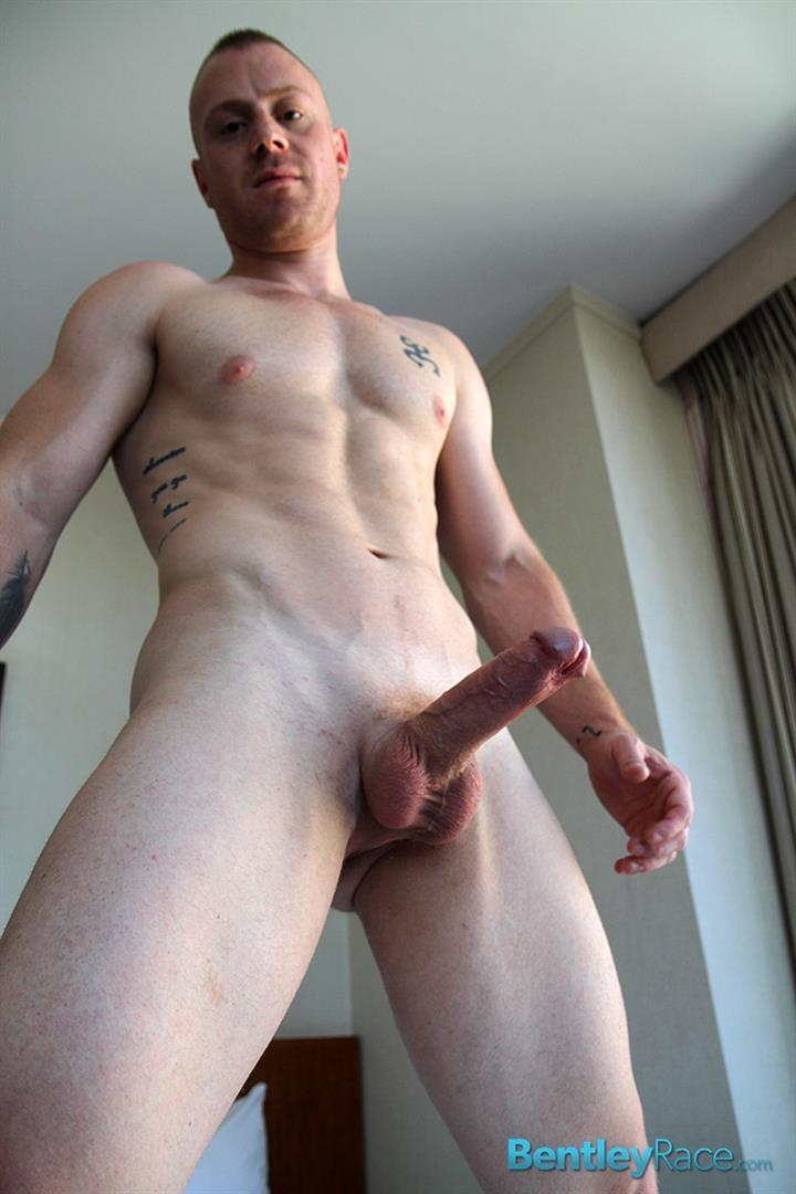 Bentley-Race-Saxon-West-Thick-Cock-Jerking-Off-Amateur-Gay-Porn-14 Amateur Red Headed Muscle Boy Jerks His Big Thick Cock