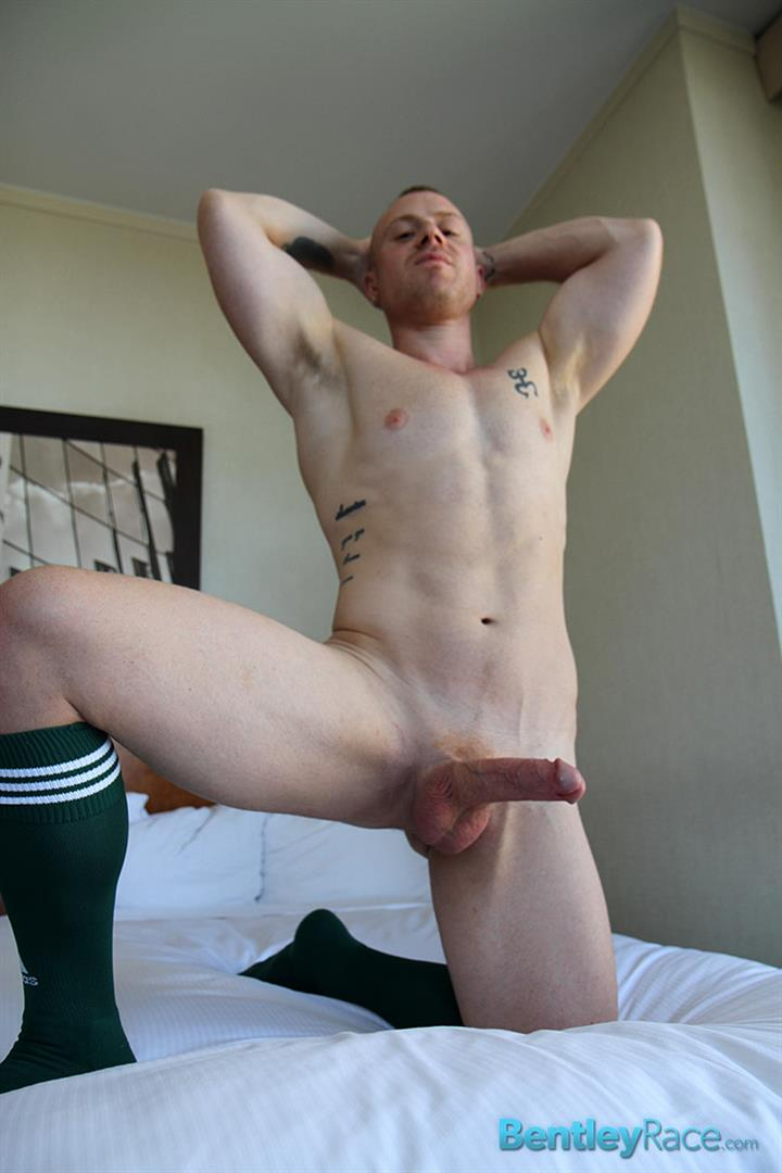 Bentley-Race-Saxon-West-Thick-Cock-Jerking-Off-Amateur-Gay-Porn-16 Amateur Red Headed Muscle Boy Jerks His Big Thick Cock