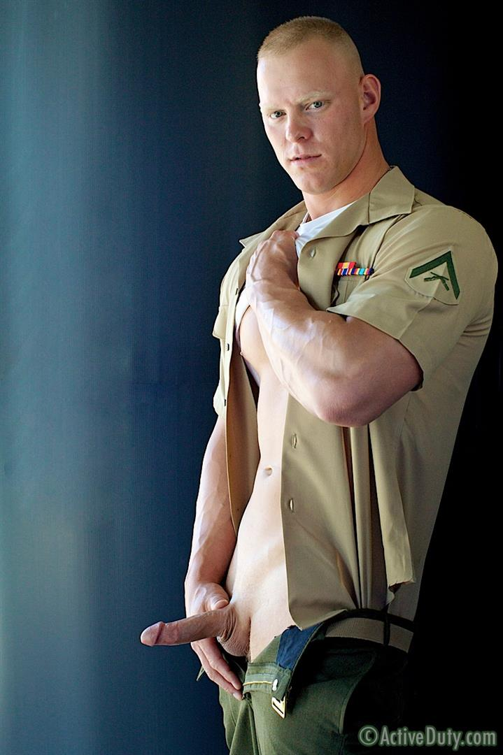 Active-Duty-Dane-Muscle-Straight-Marine-Jerking-His-Cock-Amateur-Gay-Porn-04 Amateur Straight Redheaded Muscle Marine Jerking Off In Uniform