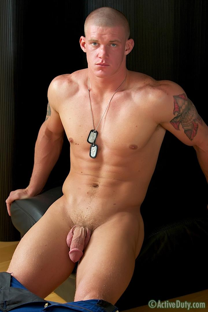 Active Duty Tanner Muscle Marine Jerking His Big Mushroom Head Cock Amateur Gay Porn 13 Semper Fi!  Real Muscle Marine Jerking His Mushroom Head Cock