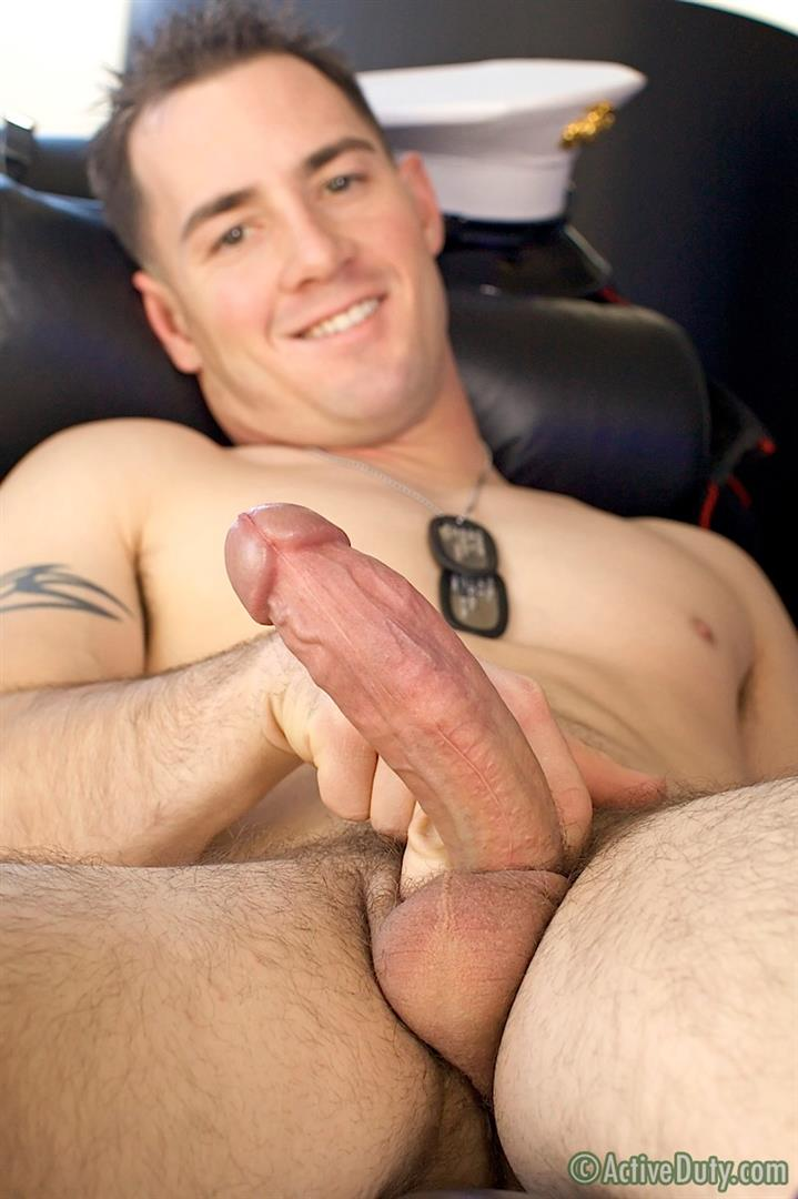 ActiveDuty Jack Thick Cock Marine Jerking Off Amateur Gay Porn 19 Amateur Thick Cock Straight Marine Pulls His Cock Out Of Uniform