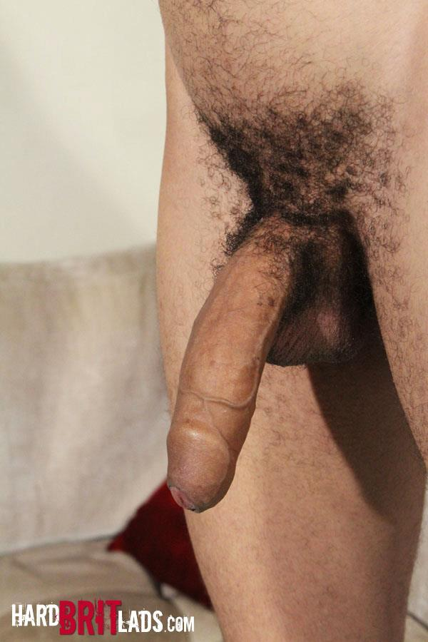 Hard-Brit-Lads-Shaun-Jones-Huge-Uncut-Cock-Jerk-Off-Mixed-Race-Amateur-Gay-Porn-13 Young Masculine Amateur Mixed Race Guy Jerks His Huge Uncut Cock