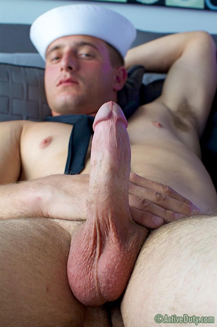 Active-Duty-Nash-Navy-Guy-With-Big-Cock-Jerking-Off-Amateur-Gay-Porn-14 Real Straight Navy Guy In Uniform Jerking Off His Big Thick Cock