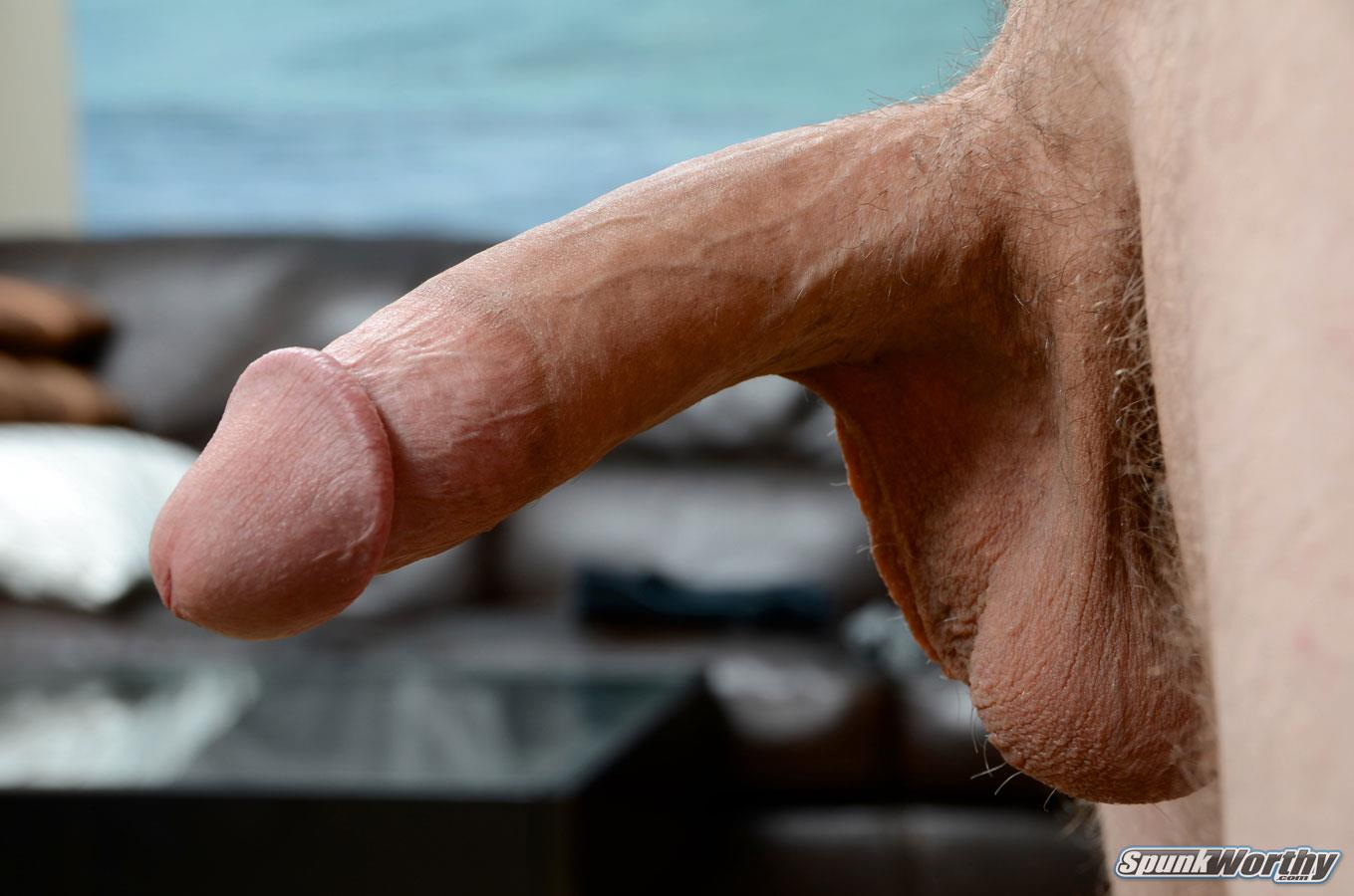 SpunkWorthy-Dane-Tatted-Marine-Masturbating-8-Inch-Cock-Amateur-Gay-Porn-09 Amateur StraightTatted Marine Jerking His Big 9