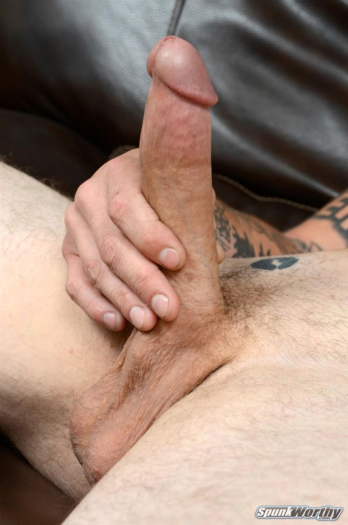 "SpunkWorthy Dane Tatted Marine Masturbating 8 Inch Cock Amateur Gay Porn 14 Amateur StraightTatted Marine Jerking His Big 9"" Cock"