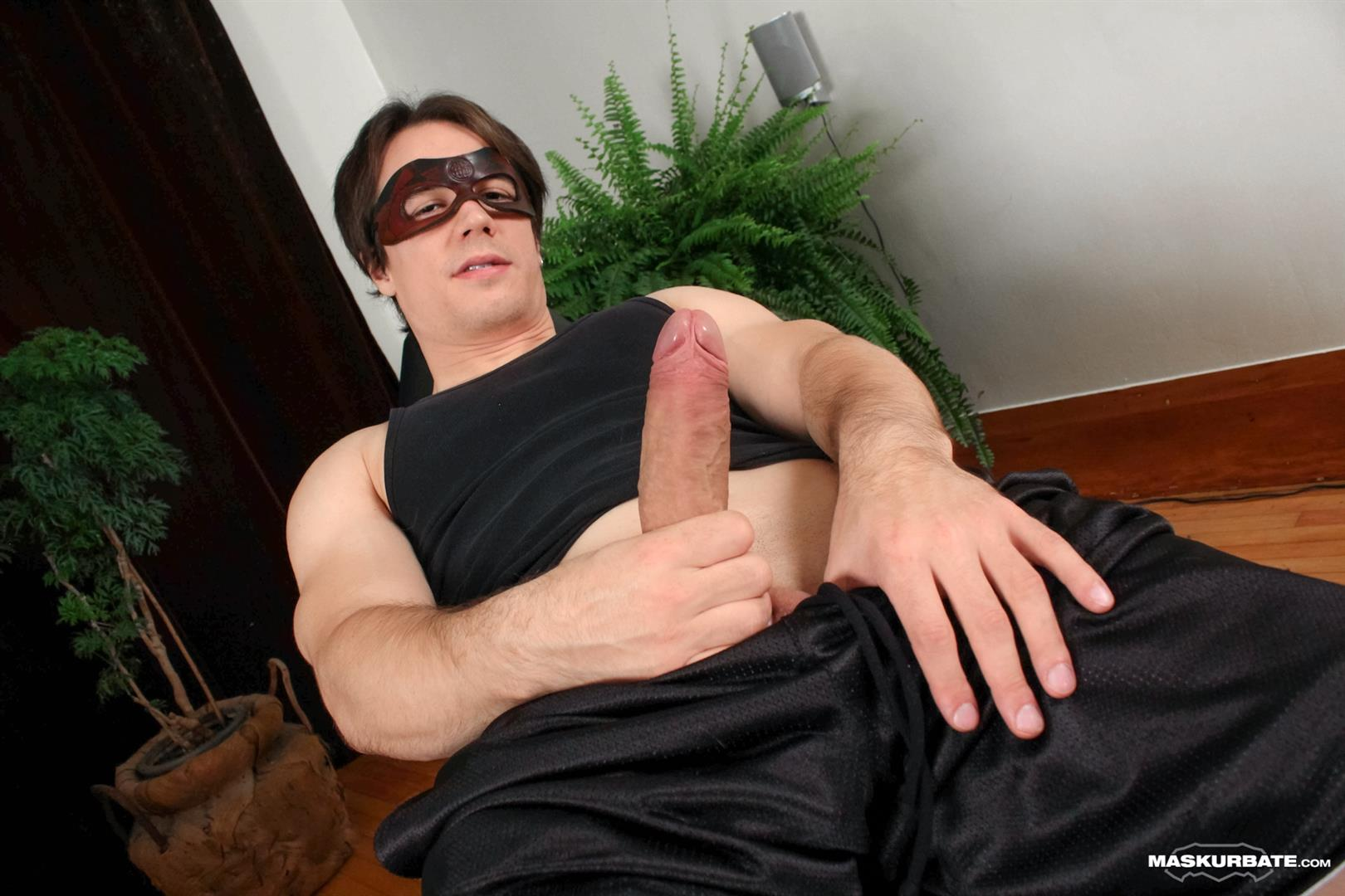 Maskurbate-Ricky-Big-Uncut-Cock-Jerk-Off-Anonymous-Amateur-Gay-Porn-03 Maskurbate Hunk Ricky Jerking Off His Huge Uncut Cock