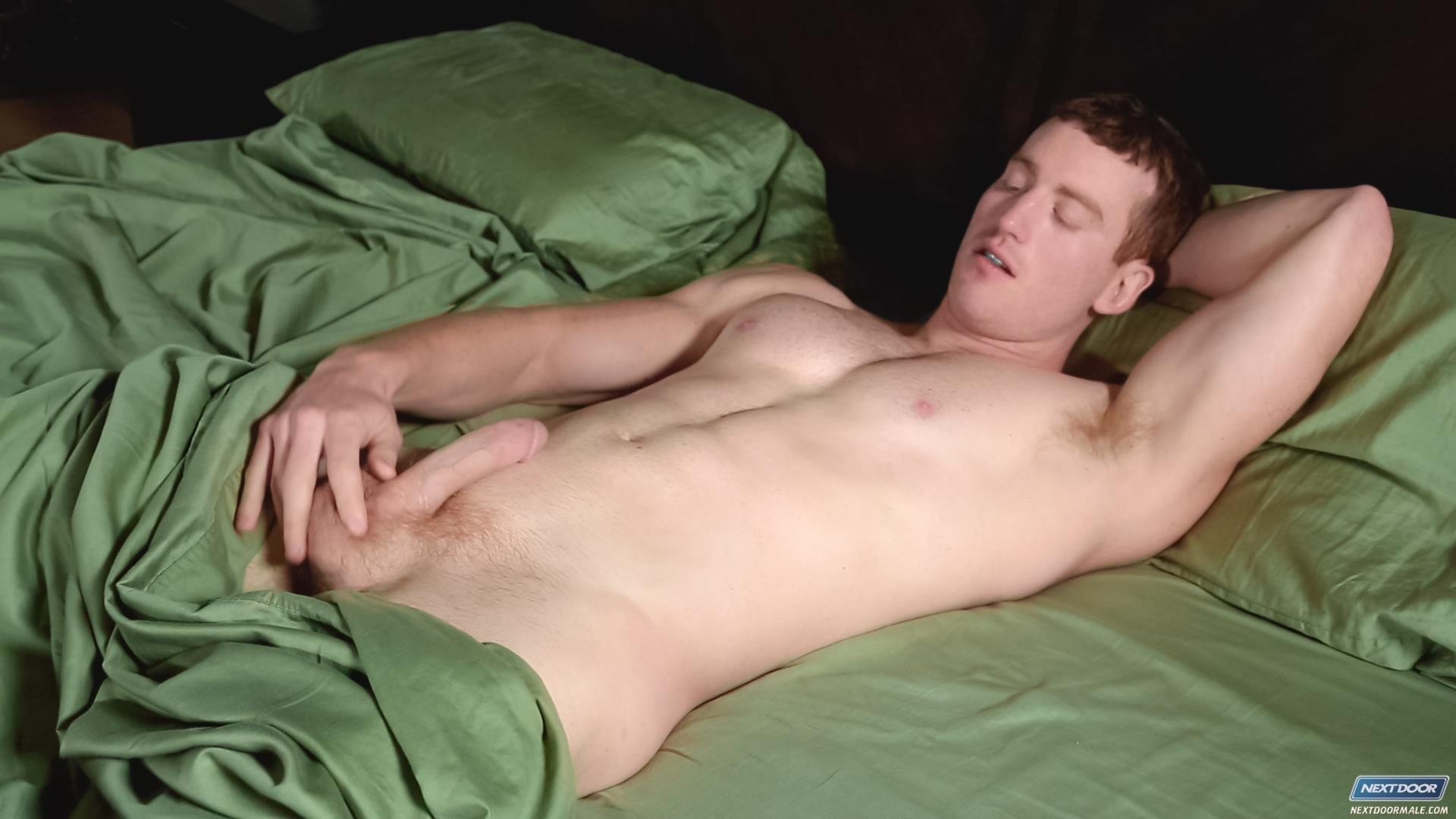 Next-Door-Male-Stryker-Texas-Redhead-Jerking-His-Cock-Amateur-Gay-Porn-05 Texas Redneck Redhead Country Boy Jerking His Ginger Cock