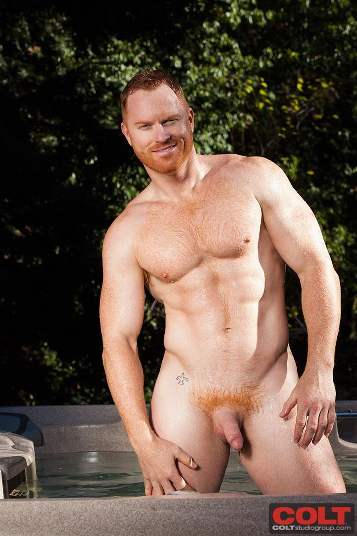 COLT-Seth-Fornea-Hairy-Redheaded-Muscle-Hunk-Jerkoff-Amateur-Gay-Porn-23 Newest Colt Model Redhead Muscle Stud Seth Fornea Jerking Off