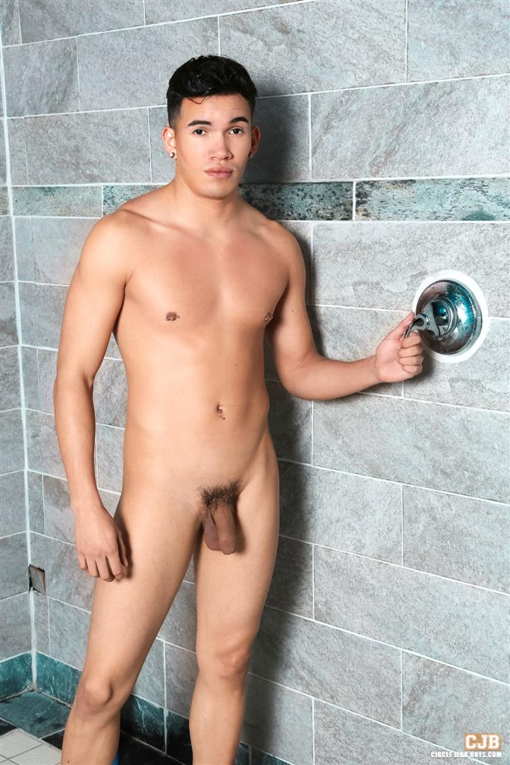 Circle Jerk Boys Liam Troy Young Hispanic Guy Jerking His Big Uncut Cock Amateur Gay Porn 04 Young Latino Twink Jerking His Big Uncut Cock In The Dorm Showers