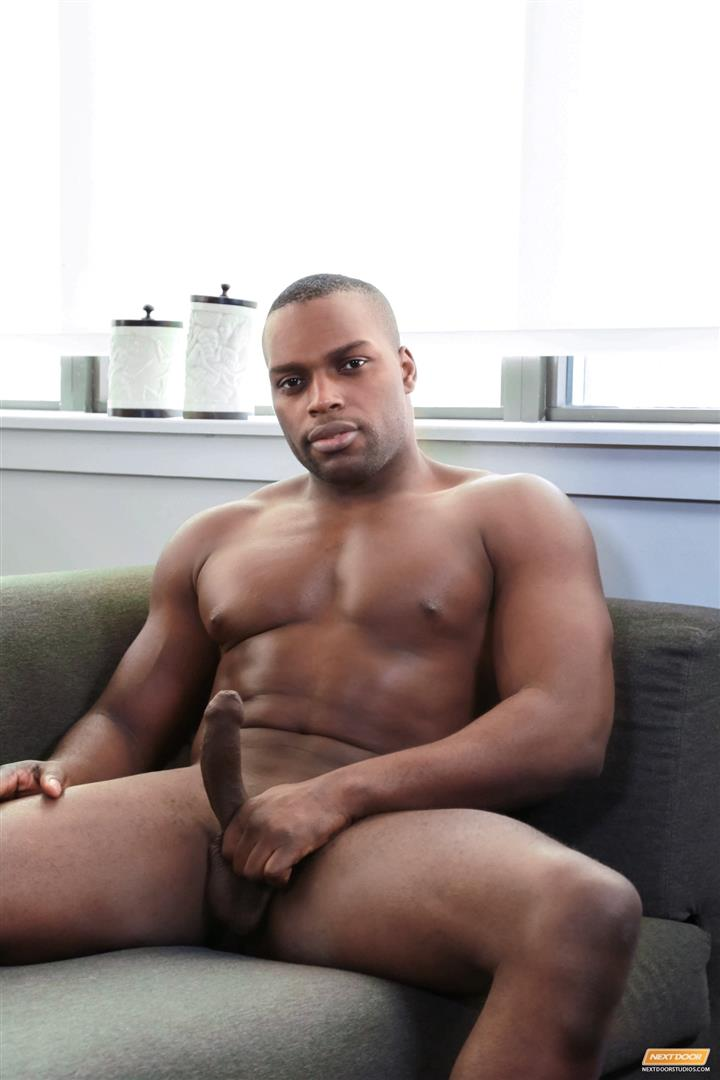 Next Door Ebony Jayden Stone Big Black Muscle Guy Jerking Big Uncut Black Cock Amateur Gay Porn 06 Black Muscle Hunk Jayden Stone Jerking His Big Uncut Black Cock