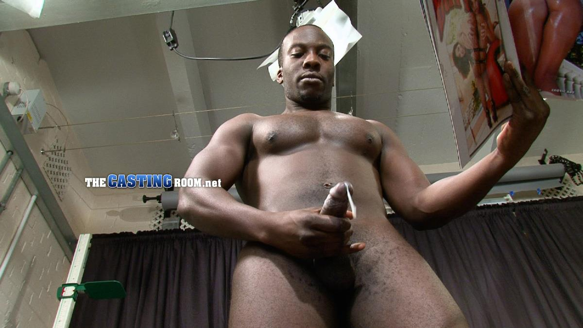 The Casting Room Troy Straight Black Guy Jerking His Big Black Uncut Cock Amateur Gay Porn 17 Straight Black Man WIth A Big Uncut Cock Auditions For Gay Porn