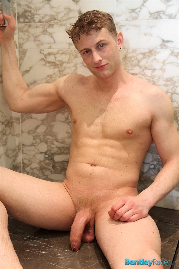 Bentley-Race-Phillip-Anderson-Swedish-Hunk-With-A-Huge-Uncut-Cock-In-The-Shower-Amateur-Gay-Porn-13 Blonde Swedish Hunk Jerking His Huge Uncut Cock In The Shower