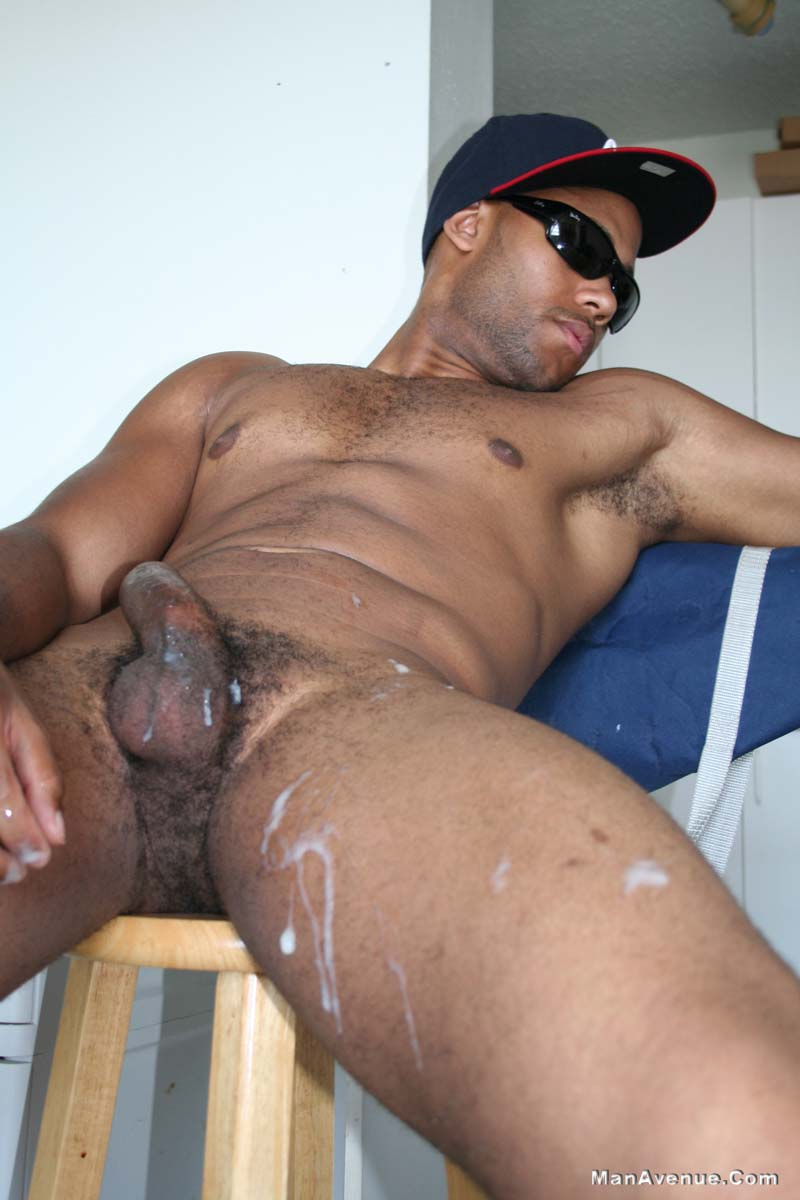 cum Black man