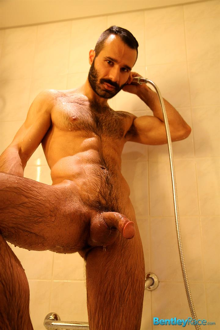 Bentley Race Aybars Hairy Turkish Guy With A Huge Cock Jerking Off Amateur Gay Porn 16 Hairy Turkish Guy Aybars Jerking His Thick Cock In The Shower