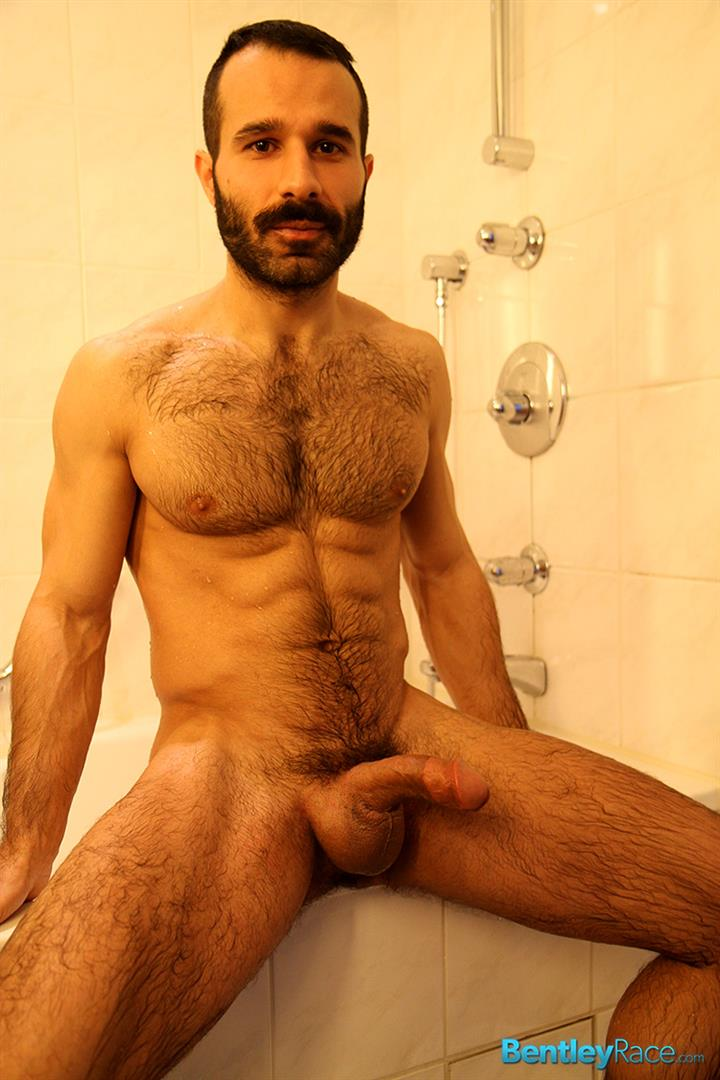 Bentley Race Aybars Hairy Turkish Guy With A Huge Cock Jerking Off Amateur Gay Porn 19 Hairy Turkish Guy Aybars Jerking His Thick Cock In The Shower