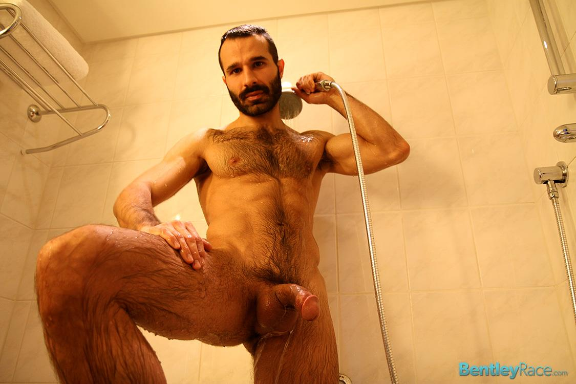 Bentley Race Aybars Hairy Turkish Guy With A Huge Cock Jerking Off Amateur Gay Porn 23 Hairy Turkish Guy Aybars Jerking His Thick Cock In The Shower