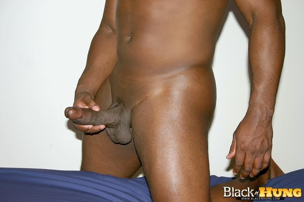 Black N Hung D Total Package Black Muscle Thug Jerking His Thick Black Cock Amateur Gay Porn 13 Black Muscle Thug Jerking Off His Thick Black Cock