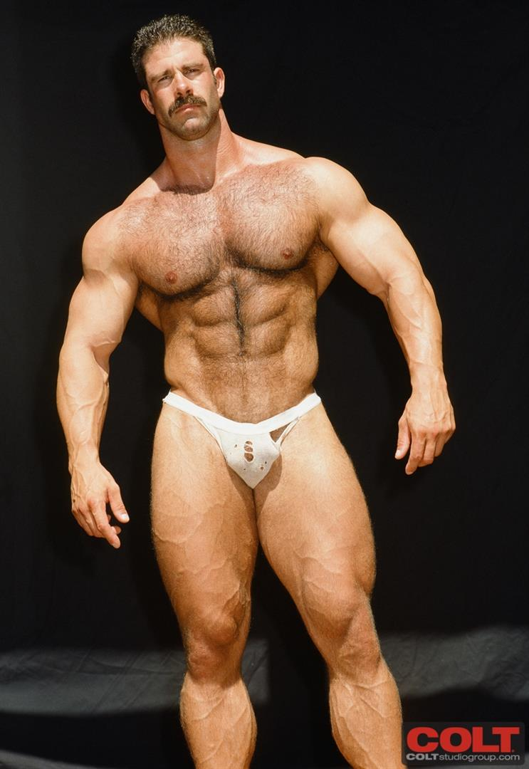 Colt-Studio-Group-Pete-Kuzak-Hairy-Muscle-Hunk-With-Hairy-Cock-Amateur-Gay-Porn-11 Hairy Muscle Hunk Colt Icon Pete Kuzak Showing It All
