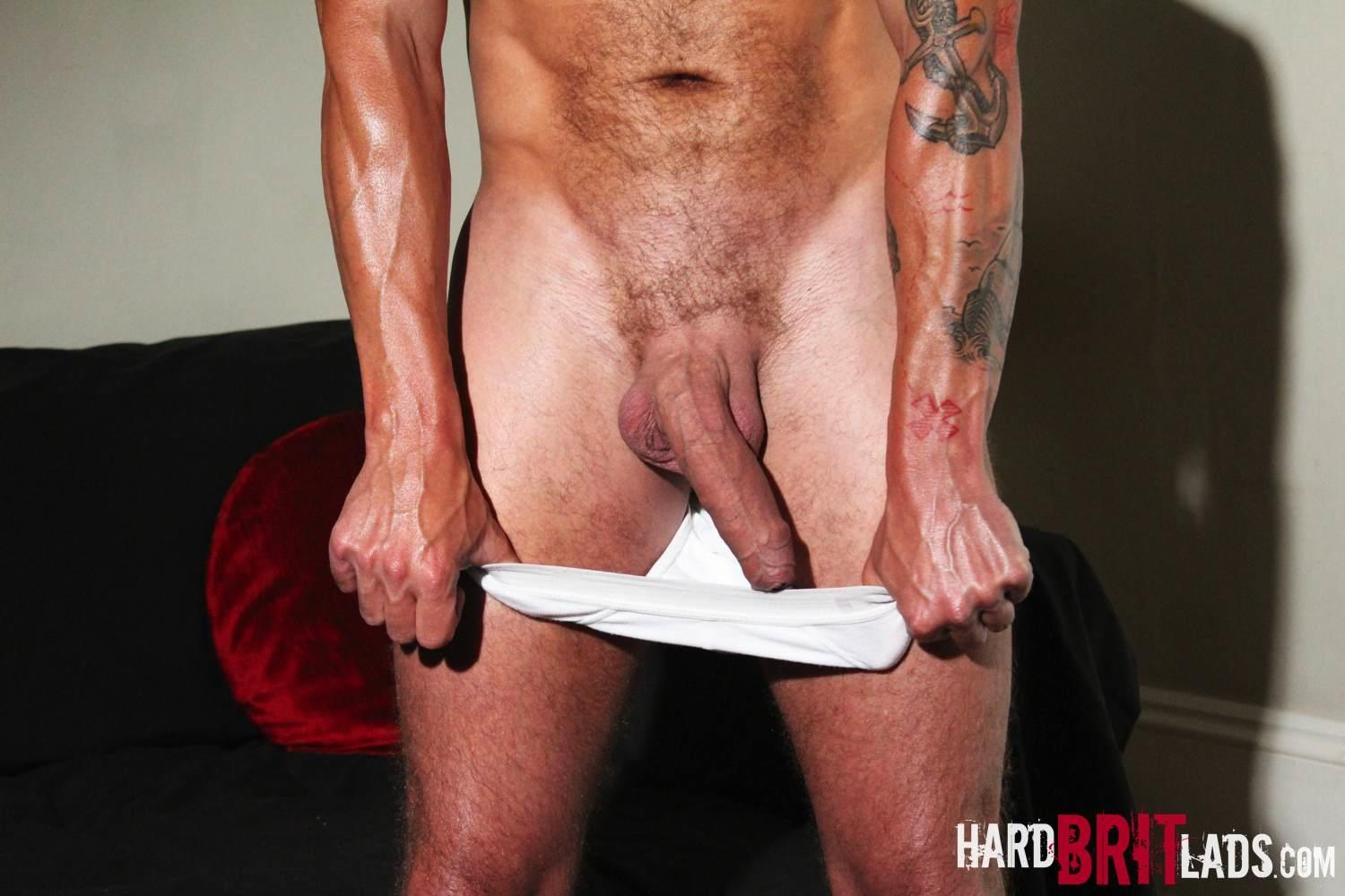 Hard Brit Lads Sam Porter British Muscle Hunk With A big Uncut cock Amateur Gay Porn 07 Tatted Muscle British Hunk Sam Porter Jerking His Big Uncut Cock