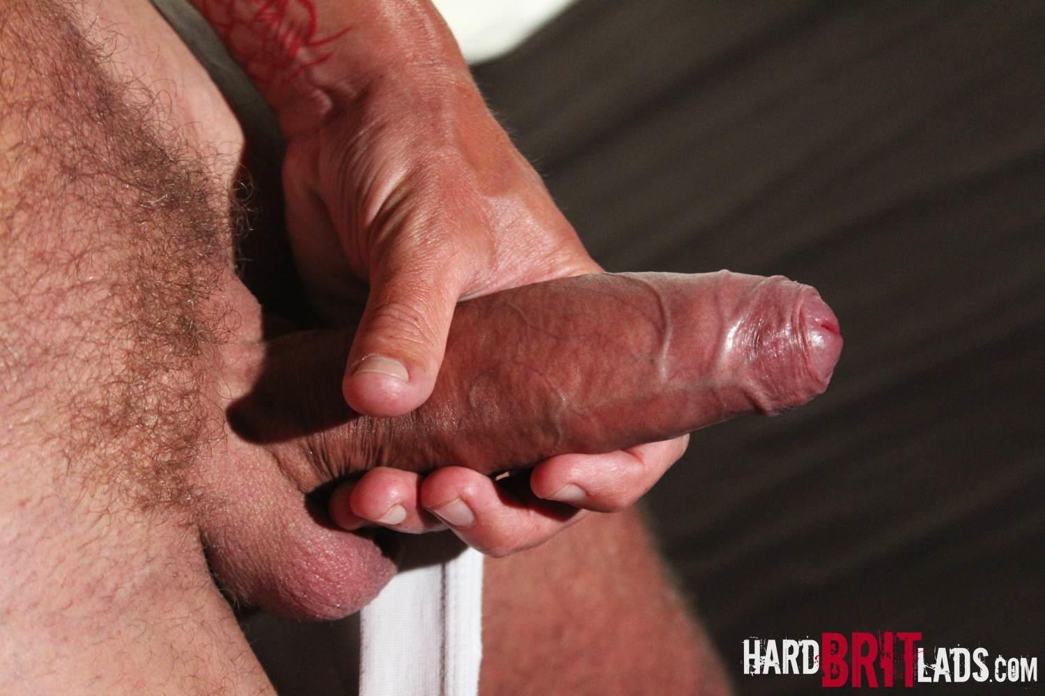 Hard Brit Lads Sam Porter British Muscle Hunk With A big Uncut cock Amateur Gay Porn 08 Tatted Muscle British Hunk Sam Porter Jerking His Big Uncut Cock