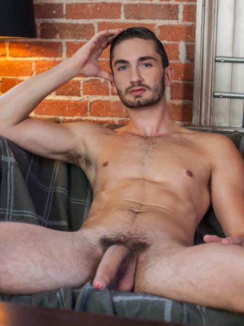Randy Blue Preston Cole GQ looking Guy With A Huge Uncut Cock Jerking Off Amateur Gay Porn 10 Hottie Preston Cole Jerking His Huge Uncut Cock